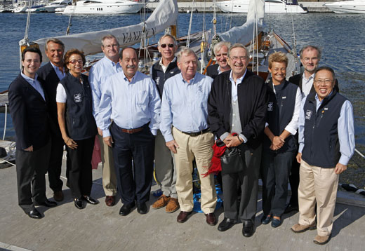 The ISAF Executive Committee in Denmark