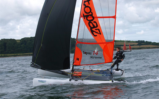 Action from the Topper World Championships