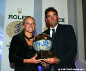 Russell Coutts (SUI) and Siren Sundby (NOR) Receive Sailing's Top Award