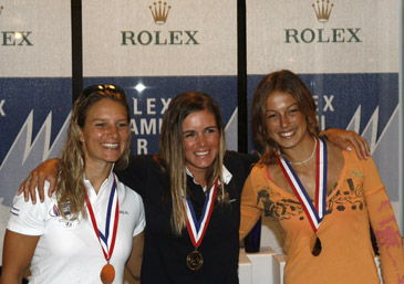 The 2007 winners celebrate:© ROLEX/Dan Nerney
