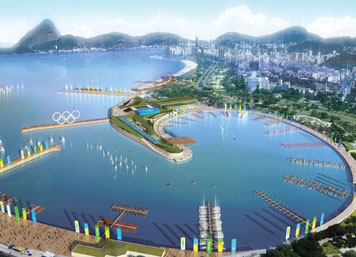 The Rio 2016 sailing venue
