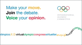 Click here to go the Virtual Olympic Congress site