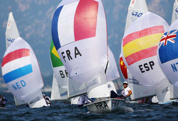2008 Olympics - 11- to the 15 August - Men's 470 races
