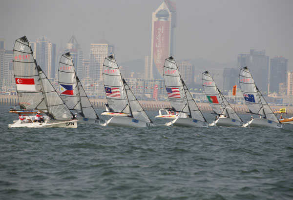 8-11 September - SKUD18 races