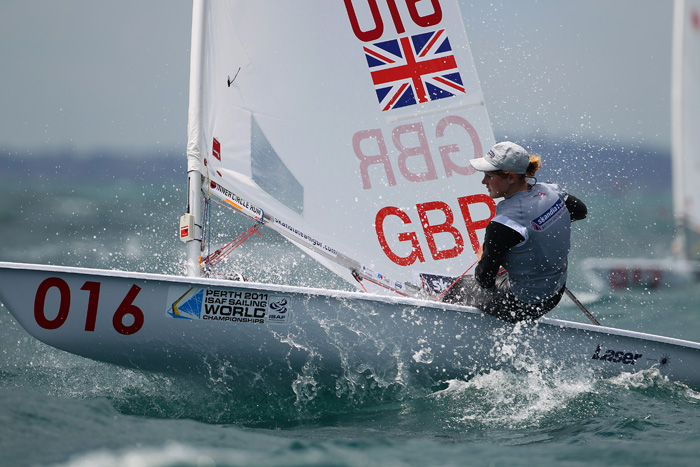 Great Britain's Alison young