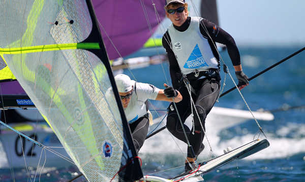 Perth 2011 ISAF Worlds - 49er Qualification
