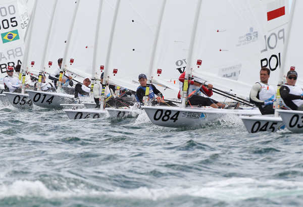 Perth 2011 ISAF Worlds - Laser Qualification