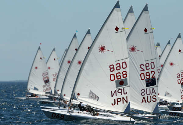 Perth 2011 ISAF Worlds - Laser Radial Qualification