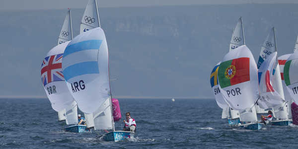 2012 Olympics - Men's 470 Medal Race & Ceremony
