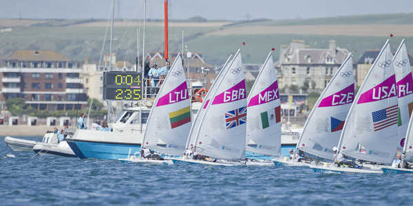 2012 Olympics - Laser Radial Medal Race & Ceremony