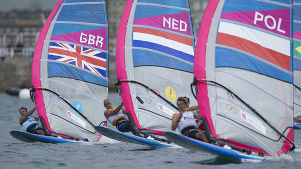 2012 Olympics - Men's RS:X Medal Race & Ceremony