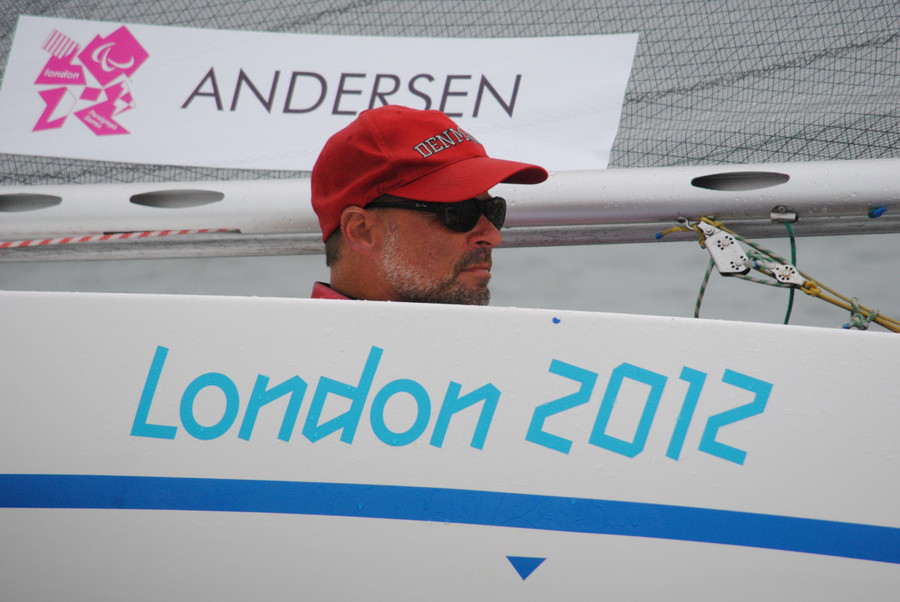 Denmark's Jens Als Andersen is 13th after four races