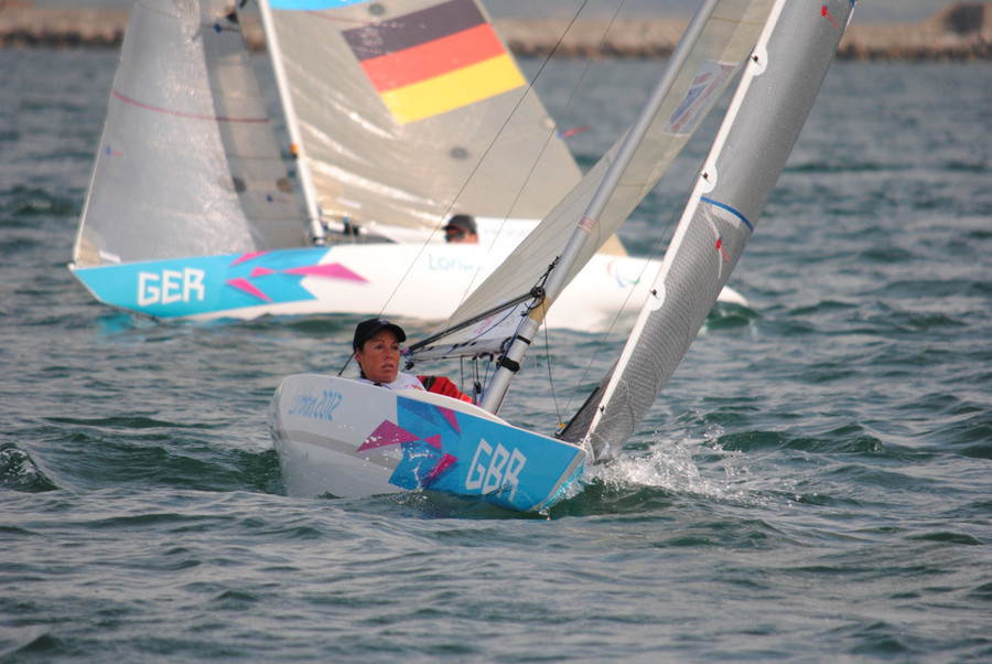 Day one leader Helena Lucas (GBR)