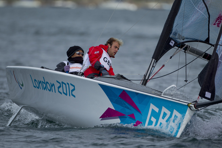 Alex Rickham and Niki Birrell (GBR) got off to a great start