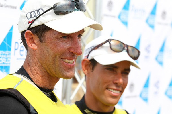 Mathew Belcher and Malcolm Page (AUS)