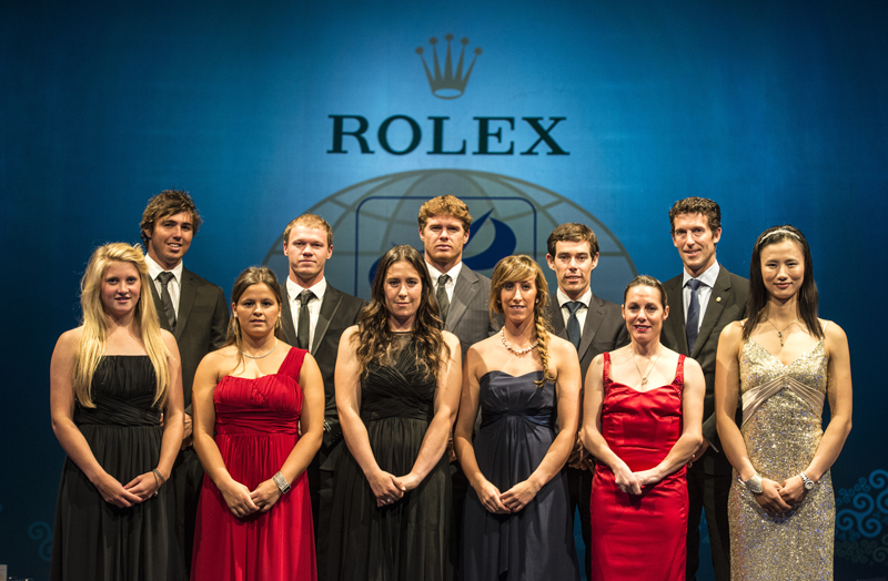 ISAF Rolex World Sailor of the Year 2012 nominees
