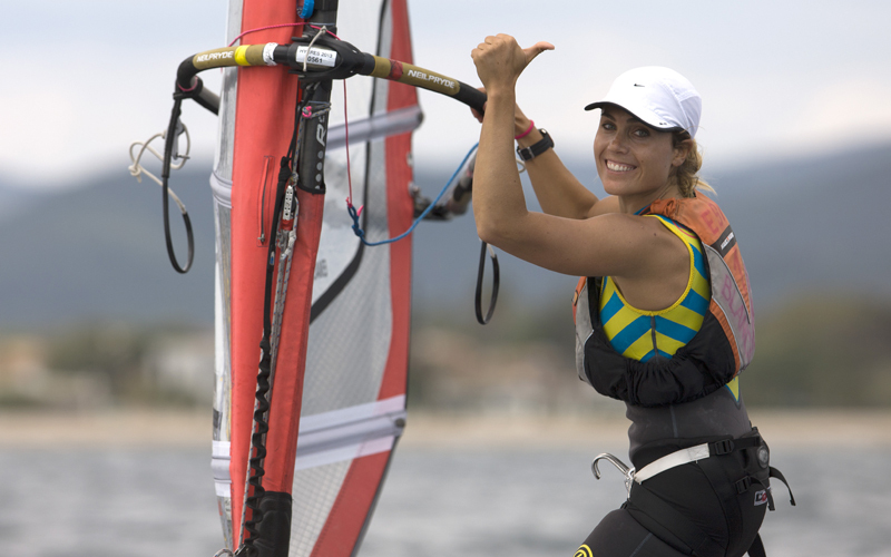 Thumbs up from Blanca Manchon (ESP)