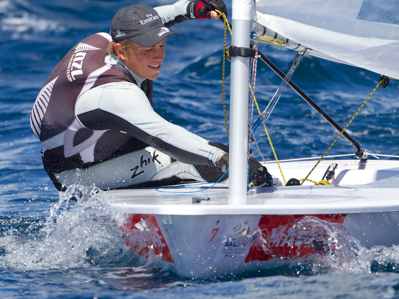 Andy Maloney (NZL) on form in Palma