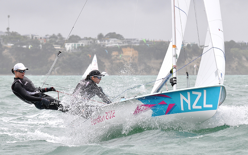 Aleh and Powrie (NZL)