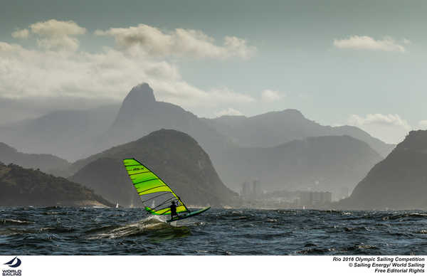 Rio 2016 - RS:X Training