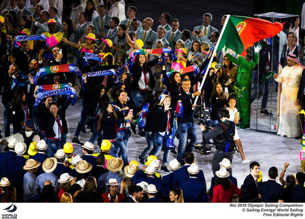 Rio 2016 - Sailors at the Opening Ceremony