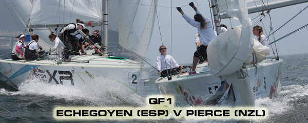 2013 Women's Match Race Worlds - Quarter Finalists