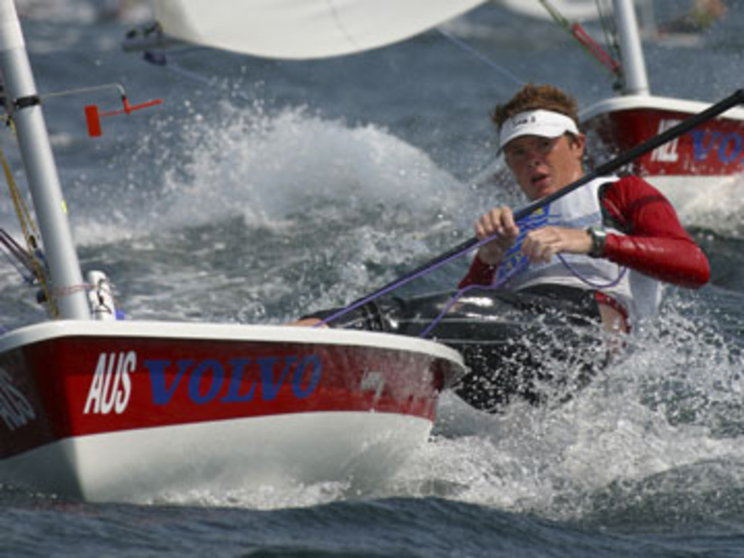 Tom SLINGSBY at the 2002 Volvo Youth Sailing ISAF World Championship