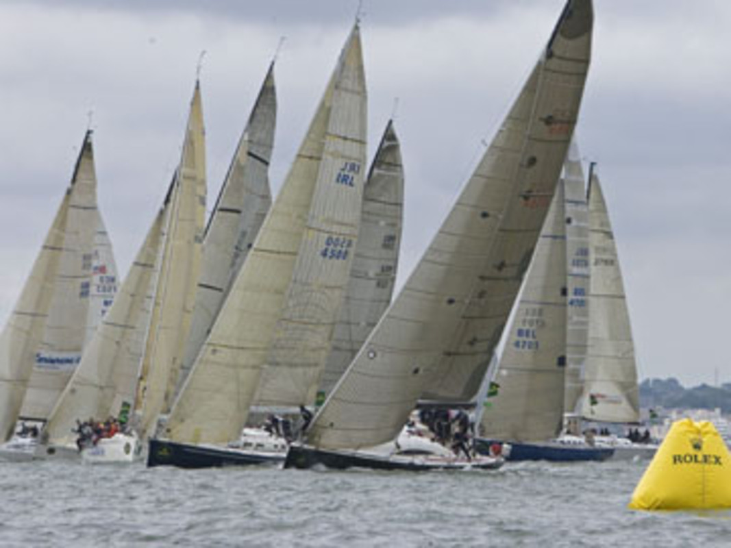 Racing at the 2006 Rolex Commodores' Cup