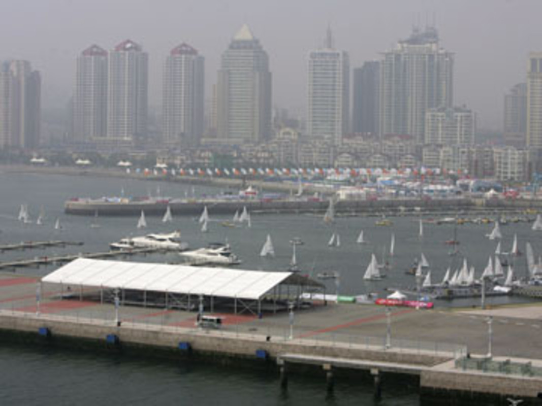 The Qingdao Olympic Sailing Centre