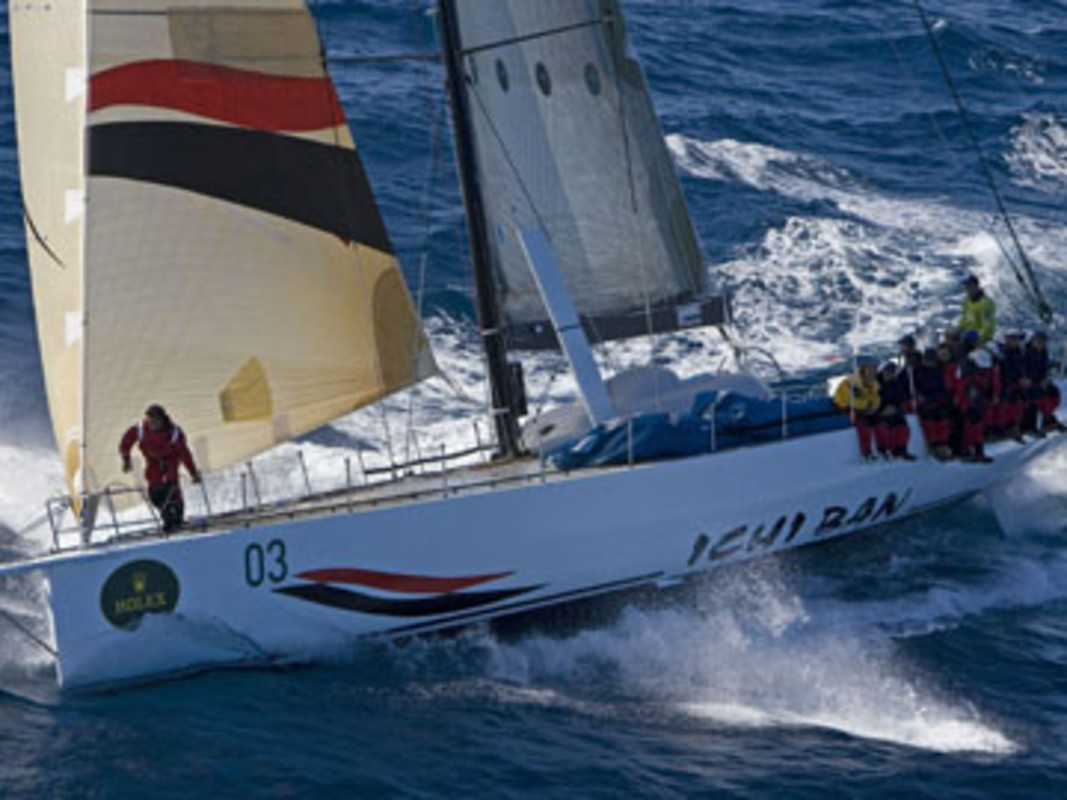 Ichi Ban during the 2006 Rolex Sydney Hobart Yacht Race