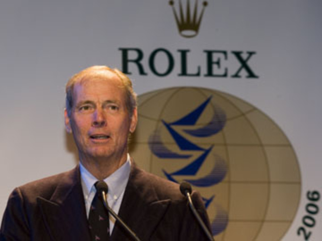 Gary JOBSON at the 2006 World Sailor Awards
