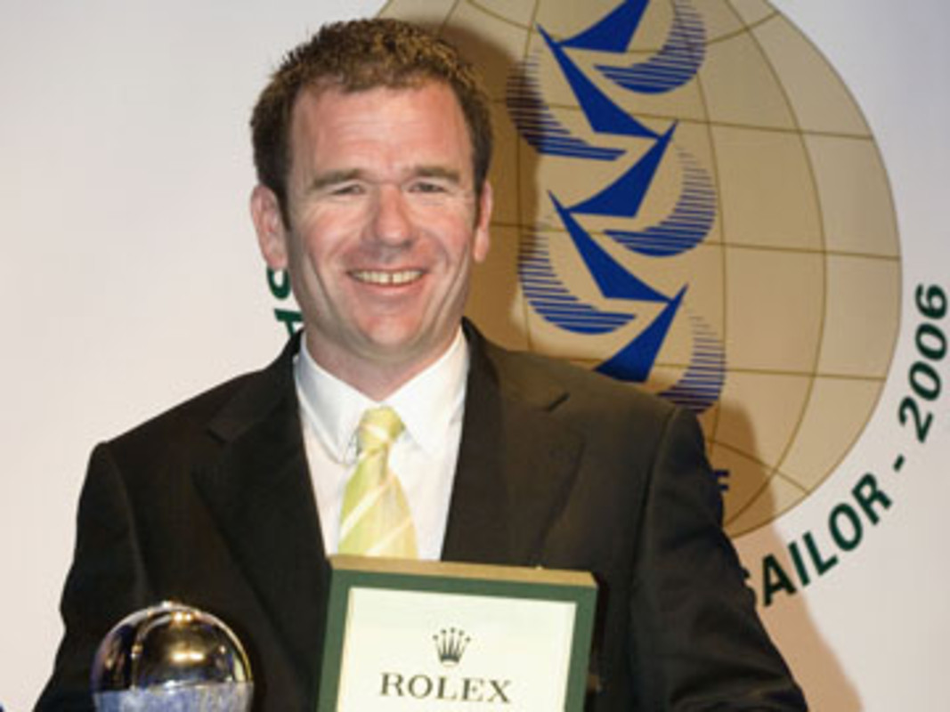 Mike SANDERSON at the ISAF Rolex World Sailor of the Year Awards