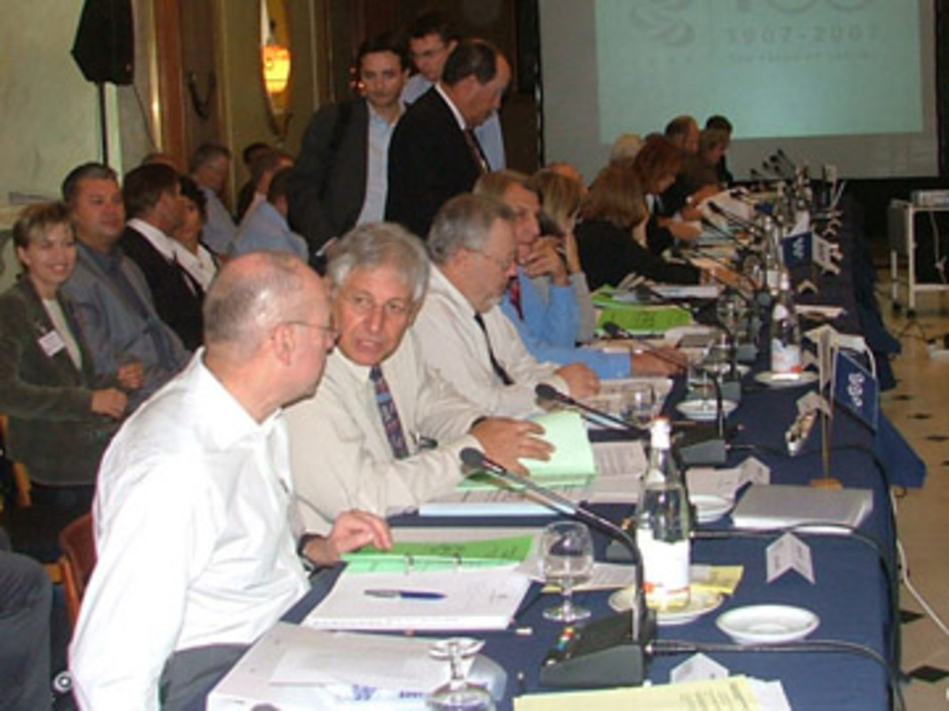 The ISAF Council meeting in Estoril