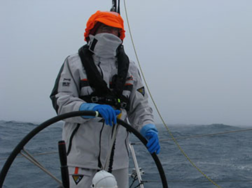 Michele PARET at the helm of Temenos II