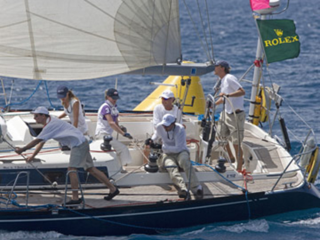 Xpresso, skippered by Marc NOORDHOEK, during the 2007 regatta