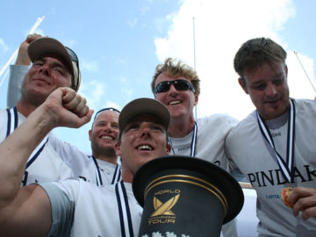 Ian WILLIAMS and his Team Pindar with the ISAF Match Racing World Championship in 2007