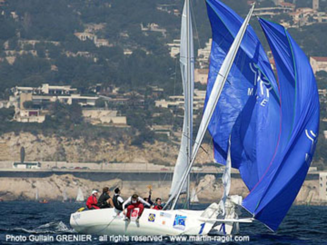 Action from the 2007 Marseille International Match Race