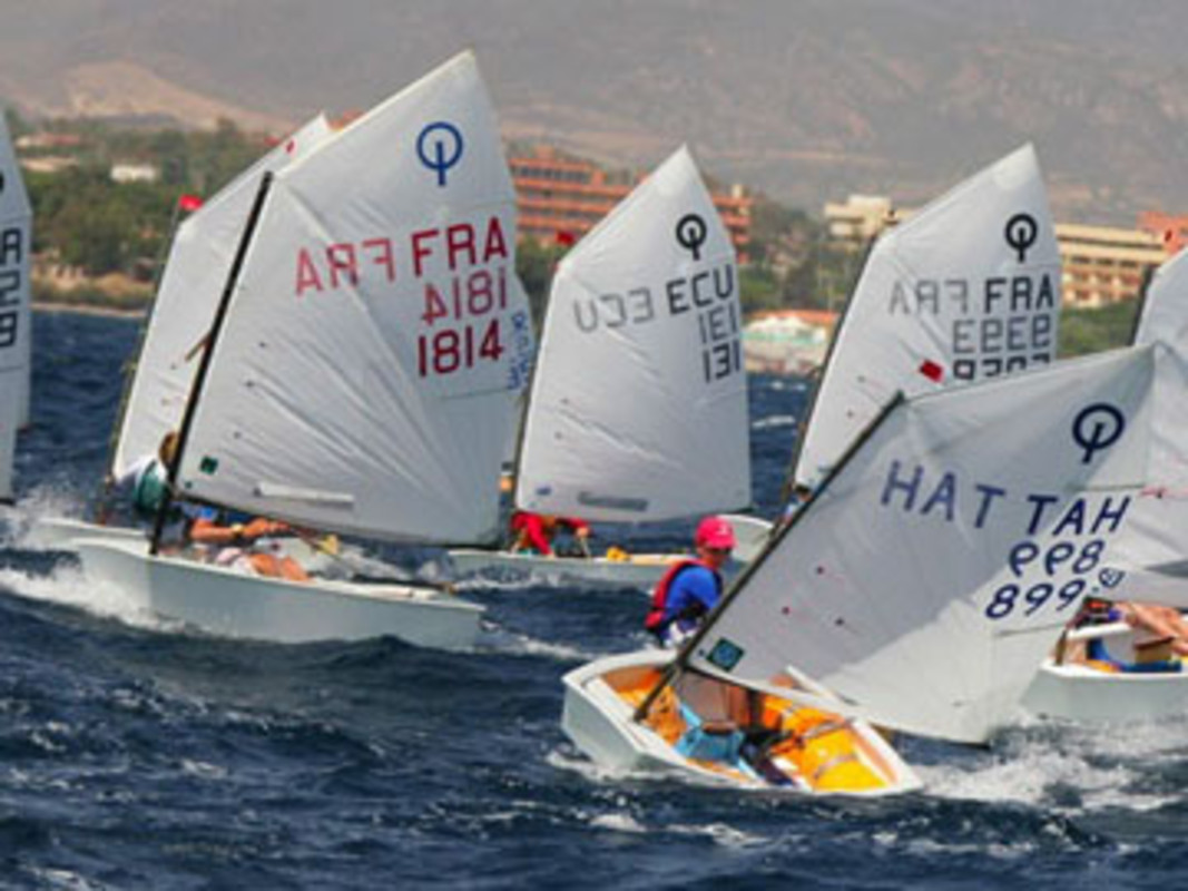 Action from the 2007 Optimist Worlds