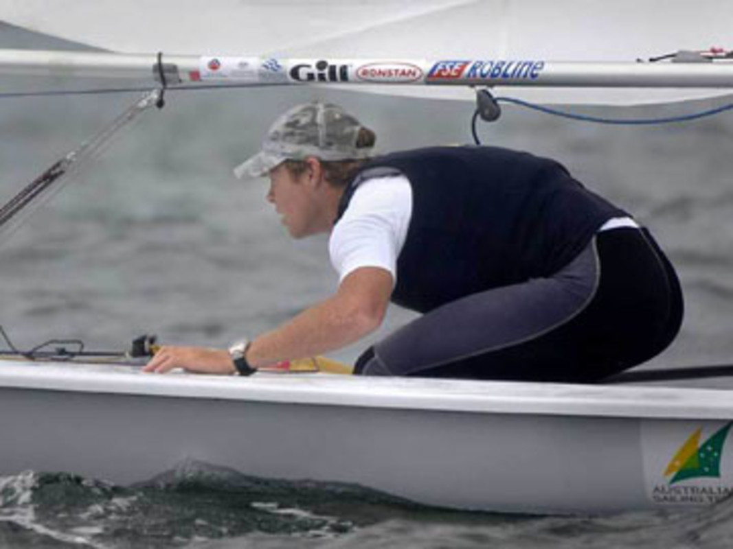 Image of Tom SLINGSBY sailing
