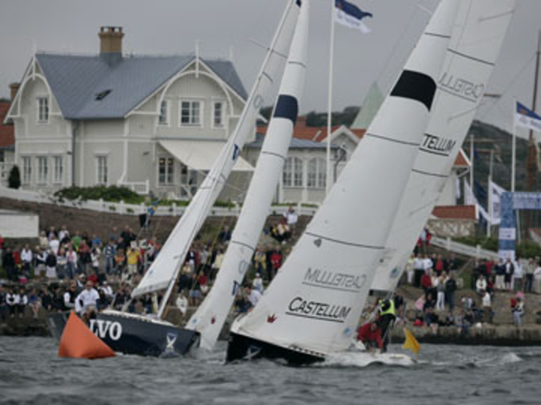 Competing in front of the crowds at last year's Match Cup Sweden