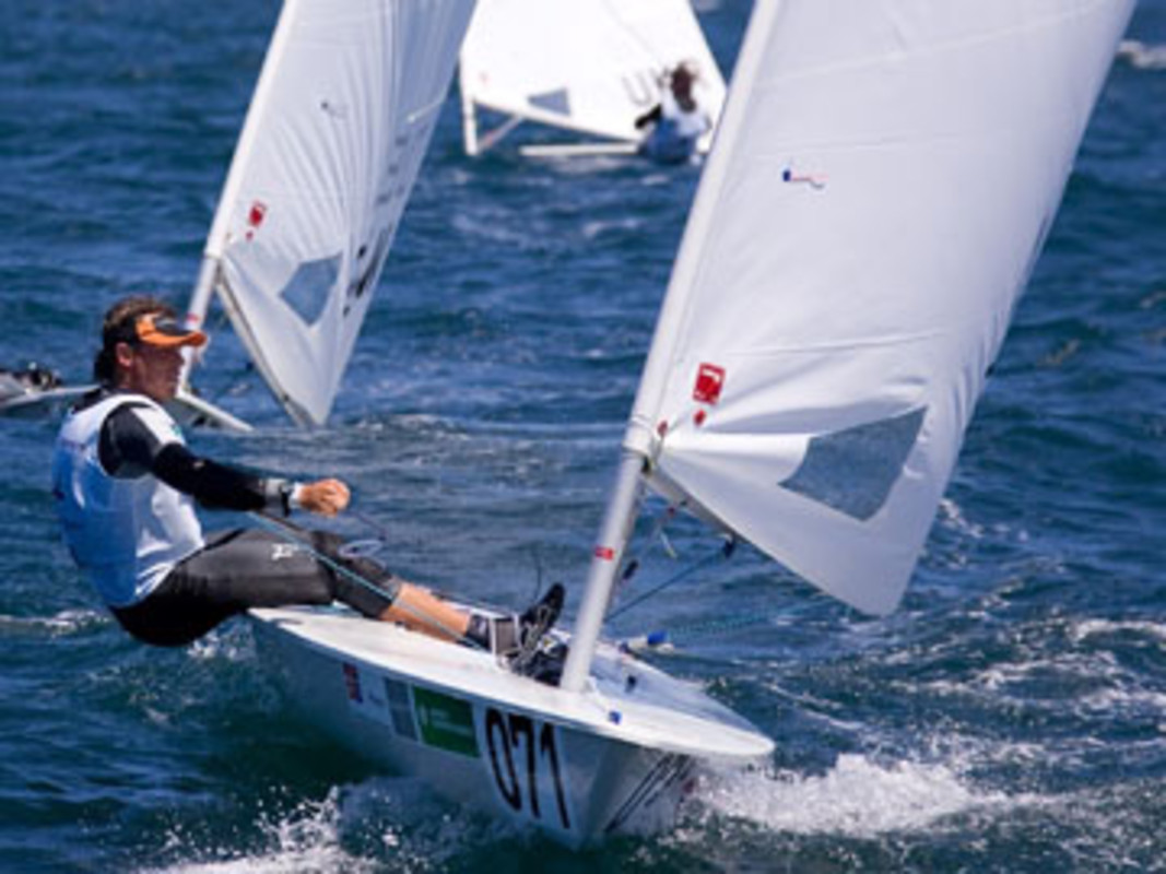 Emmanuel TAINE at the 2007 ISAF Sailing World Championships in Cascais