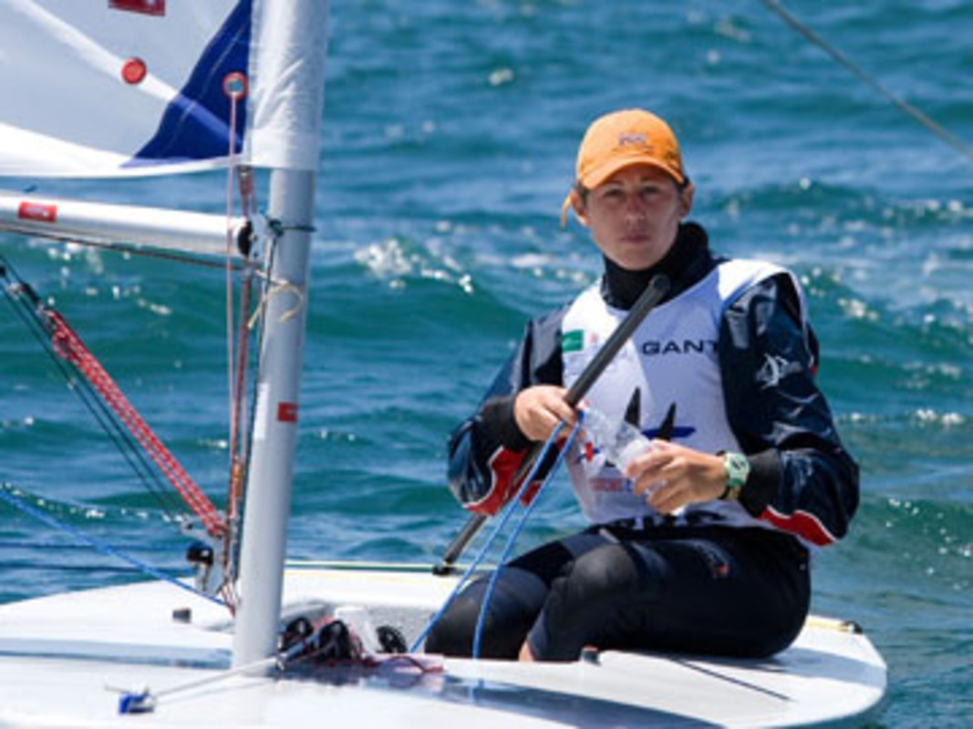 Mateja PETRONIJVEC at the 2007 ISAF Sailing World Championships