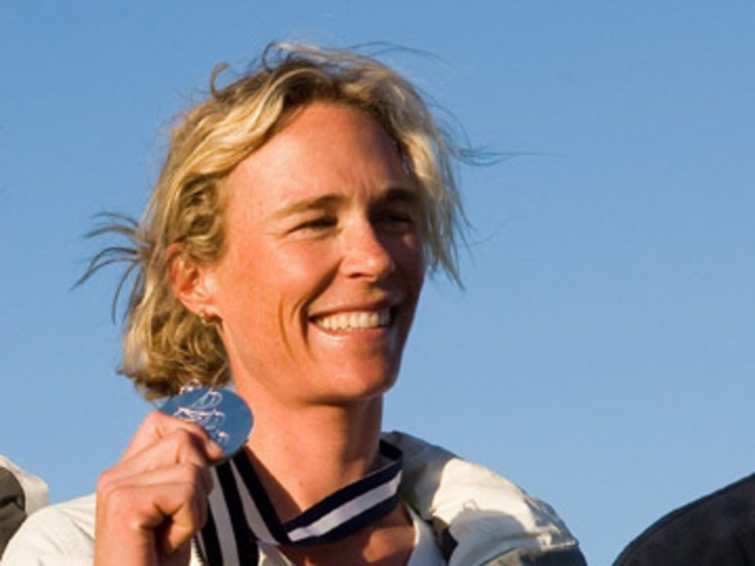 Carolijn BROUWER at the 2007 ISAF Sailing World Championships