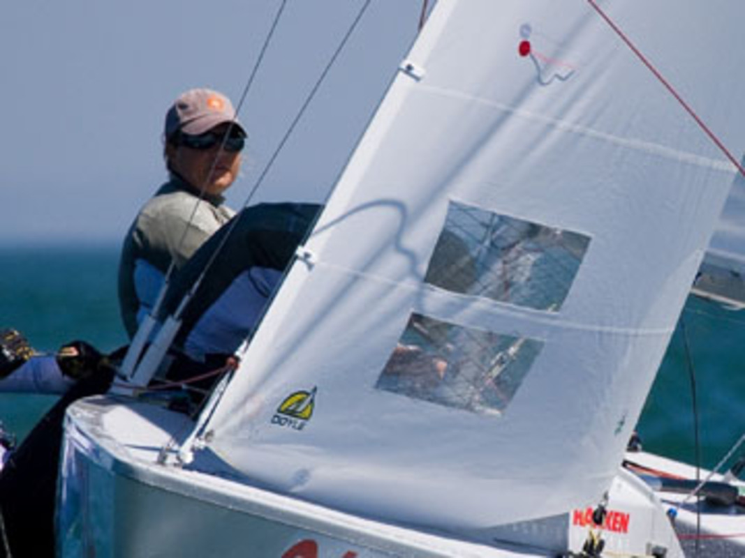 Sally BARKOW at the 2007 ISAF Sailing World Championships
