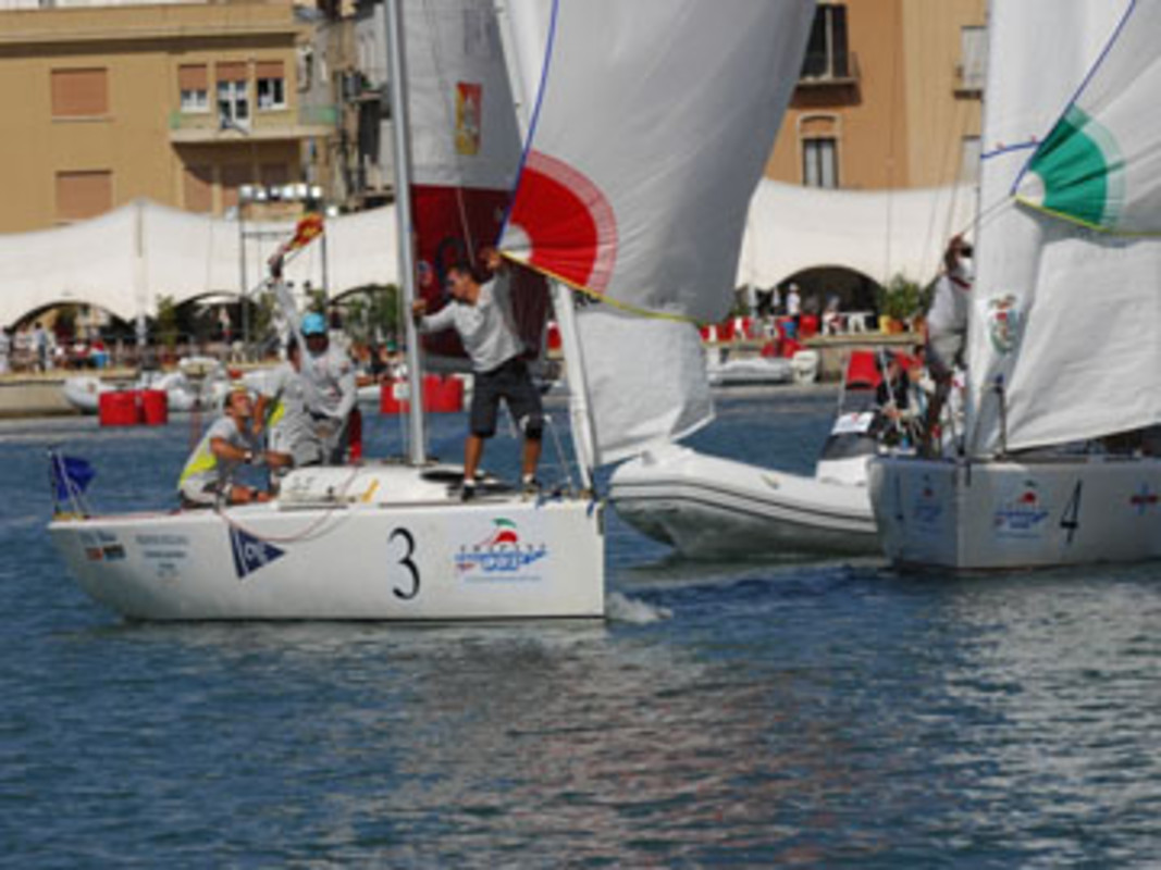 Image of the racing in Trapani