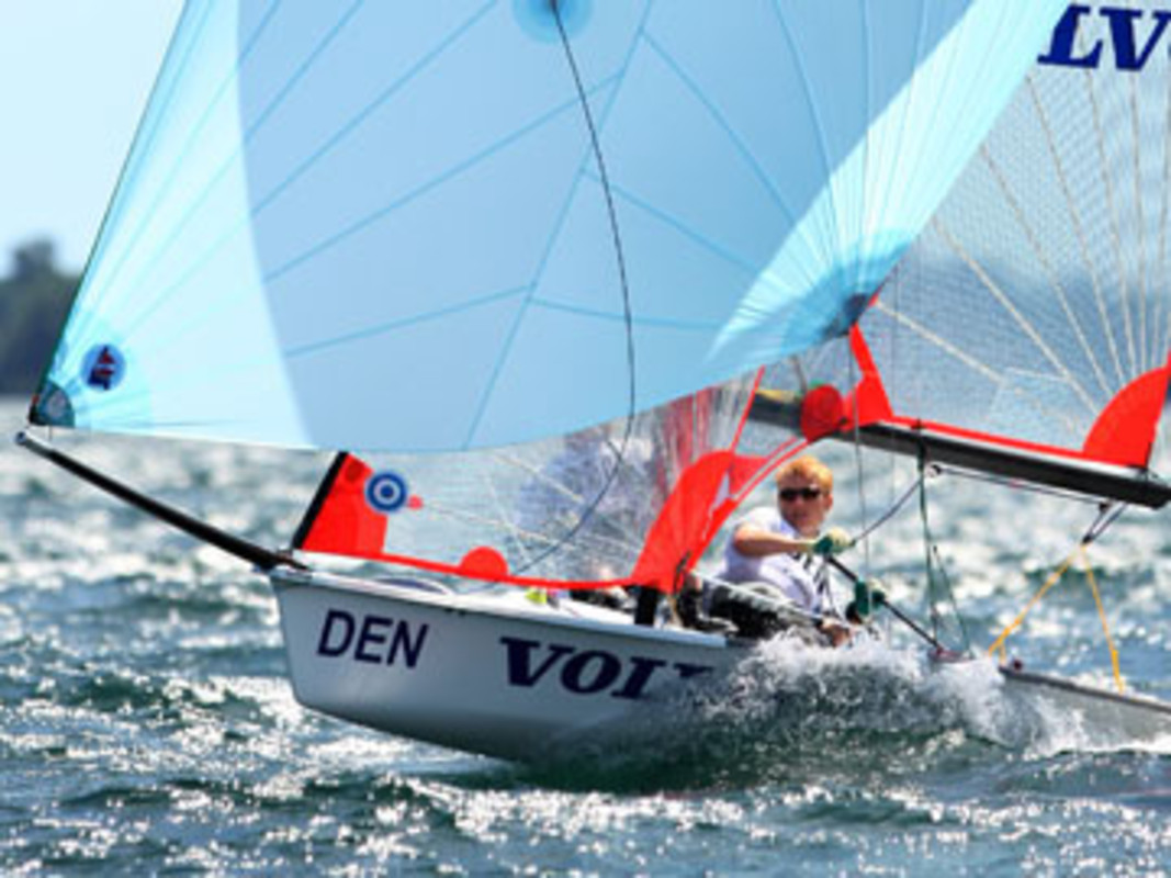 Henrik SOGAARD and Soren KRISTENSEN at the 2007 Volvo Youth Sailing ISAF World Championship