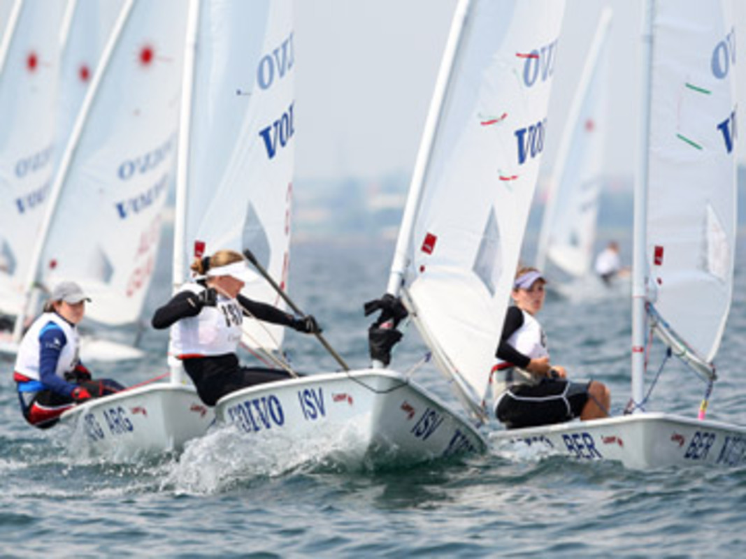 Action from the 2007 Volvo Youth Sailing ISAF World Championship