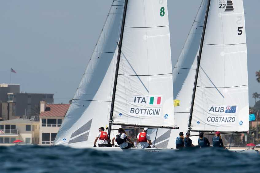 Price (AUS), Anyon (NZL) and Botticini (ITA) lead Youth Match Racing Worlds