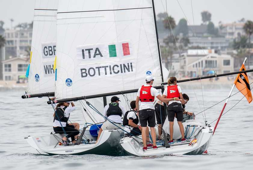 Price (AUS), Anyon (NZL) remain undefeated - Youth Match Racing World Championship