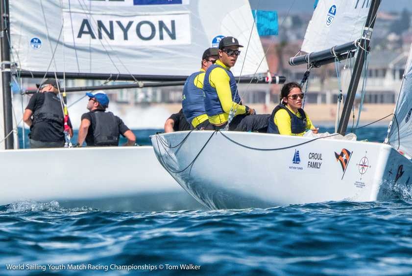 Price remains perfect at Youth Match Racing World Championship